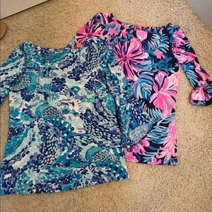 Bundle of Two Lilly Pulitzer Tops XXS
